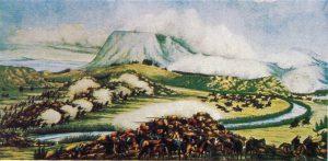 Die Slag van Boomplaats van 1848 in die Winburgse en Trompsburgse omgewing van die Transgariep, nou bekend as die Vrystaat. Andries Pretorius, die held van Bloedrivier, het die Voortrekkers aangevoor in ndie skermutseling met die soldatemag van sir Harry Smith en sy Griekwa-hulptroepe. Die Britte het die slegste daarvan afgekom. Thomas Dreyer, wie se perd weggehardloop het, is gevang en as rebel doodgeskiet.